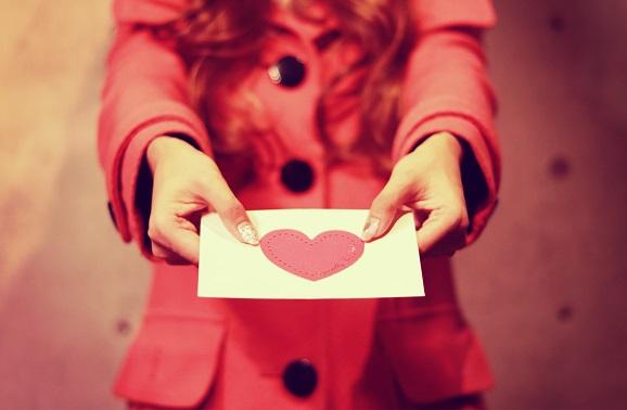 手紙を私女の子